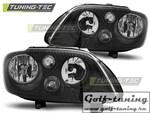 VW Touran 03-06/Caddy 03-10 Фары черные