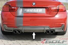 BMW F32/F33/F36 12-15/15- Диффузор заднего бампера carbon look