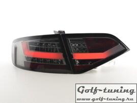 Audi A4 B8 07-11 Седан Фонари светодиодные, тонированные Lightbar design