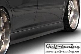 Peugeot 207 06-12 Накладки на пороги
