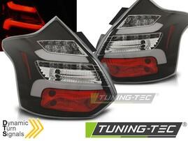 Ford Focus 11-14 Хэтчбек Фонари светодиодные, черные lightbar design