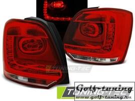 VW Polo 6R 09-13 Фонари светодиодные, красно- белые