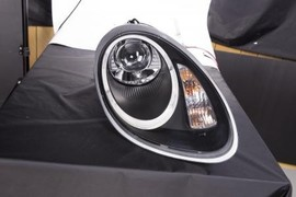 Porsche Boxster 04-08 Фары tube light черные под галоген