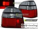 VW Golf 3 Фонари светодиодные, красно-тонированные
