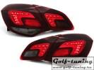 Opel Astra J 5Дв Фонари светодиодные, красно-тонированные carDNA