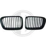 BMW E46 98-01 Решетки радиатора (ноздри) черные