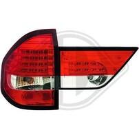 BMW X3 E83 03-06 Фонари светодиодные, красно-белые