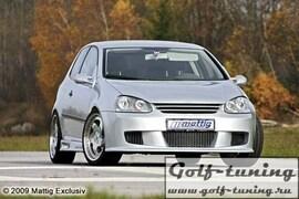 VW Golf 5 Передний бампер Racing 1