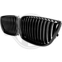 BMW E87 04-07 Решетки радиатора (ноздри) глянцевые