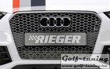 Audi A4 11-15 Решетка радиатора RS4 gun-metal