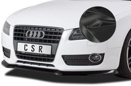 Audi A5 8T 2007-2011 Накладка на передний бампер carbon look