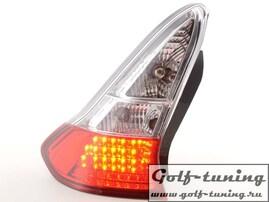 Citroen C4 04-09 Фонари светодиодные, красно-белые