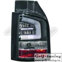 VW T5 GP 09-15 Фонари Lightbar design черные