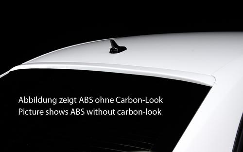 Audi A4 B8 07-15 Седан Козырек на заднее стекло Carbon Look