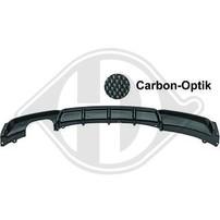 BMW F30 11-15 Диффузор для заднего бампера M-Performance carbon look