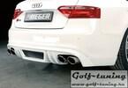 Audi A5/S5 B8/B81 07-11 S-Line Sportback Накладка на задний бампер/диффузор