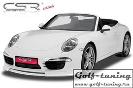 Porsche 911/991 11- Накладка на передний бампер