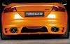 Audi TT 8J 06-10 Накладка на задний бампер