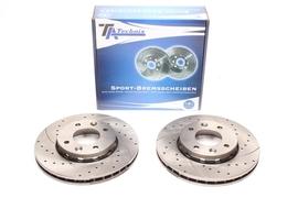 KiaCarens II 02- Спортивные тормозные диски передние