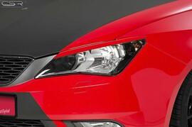 Seat Ibiza 6J 12-15 Реснички на фары