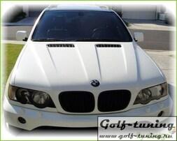 BMW X5 98-03 Решетки радиатора (ноздри) черные