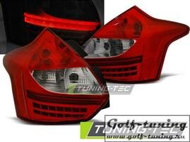 Ford Focus 11-14 Hatchback Фонари светодиодные, красно- белые