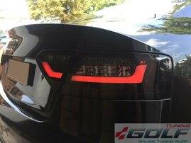Audi A5 8T 8F 07-11 Фонари светодиодные, черные
