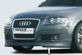 Audi A3 8P 05-08 3/5Дв Накладка на передний бампер