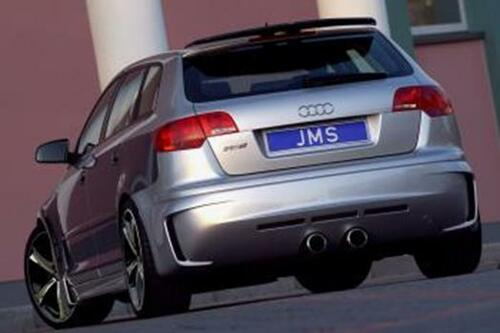 Audi A3 8P Sportback 05-08 Накладка на задний бампер