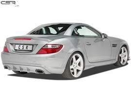 Mercedes Benz SLK R172 AMG-Line 11-16 Накладка на задний бампер/диффузор