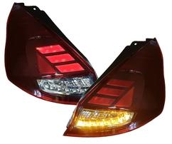 Ford Fiesta JA8 MK7 12-17 Фонари светодиодные, красно-белые