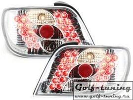 Citroen Xsara 97-00 Фонари светодиодные, хром