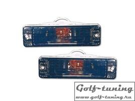 VW Golf 1, VW Golf 2, VW Jetta1, VW Jetta 2 Поворотники тонированные в узкий бампер