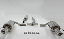 Saab 9-3 Kombi 09- Глушитель