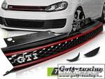 VW Golf 6 Решетка радиатора в стиле ГТИ