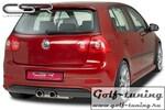 VW Golf 5  Накладка на задний бампер O-Line design