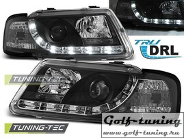 Audi A3 8L 96-00 Фары TRU DRL черные