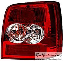 VW Passat B5+ Универсал Фонари красно-белые