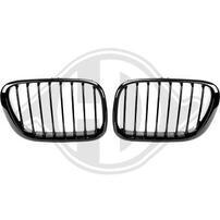 BMW X5 98-03 Решетки радиатора (ноздри) глянцевые