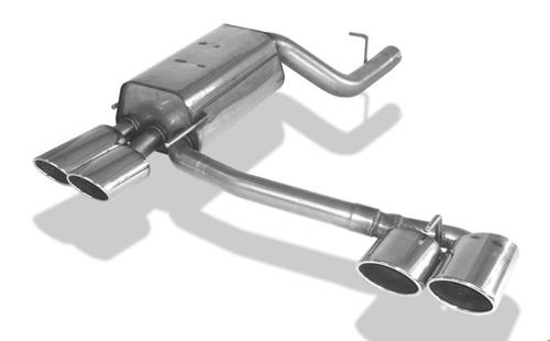Mercedes CLK W209 03-09 Кабрио Глушитель rieger typ 32