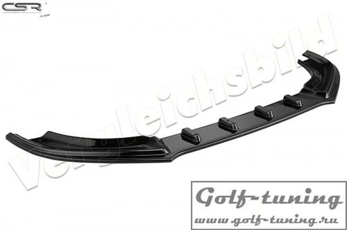 Mercedes W204/S204 AMG-Line 07-11 Накладка на передний бампер Cupspoilerlippe глянцевая