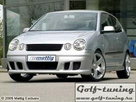 VW Polo 9N 01-05 Передний бампер
