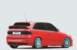 Opel Astra F 3/5 Дв Хэтчбэк Задний бампер
