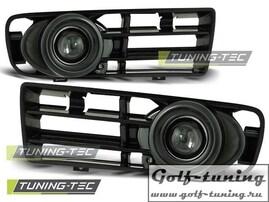 VW Golf 4 Противотуманные фары в бампер с линзой черные