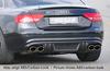 Audi A5/S5 B8/B81 07-11 Купе/Кабрио Накладка на задний бампер/диффузор