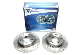 Honda Accord VII Комплект спортивных тормозных дисков