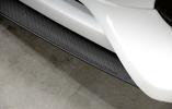 Сплиттер для спойлера переднего бампера Rieger 00055501 carbon look