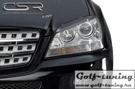 Mercedes W164 05- Реснички на фары