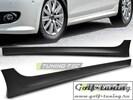VW Golf 6 Накладки на пороги в стиле Votex