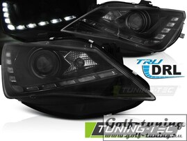 Seat Ibiza 6J 12-15 Фары TRU DRL черные